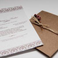 Convite de casamento rustico em são paulo guarulhos SP
