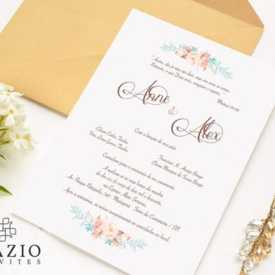 Alguns Modelos de Convites de Casamento