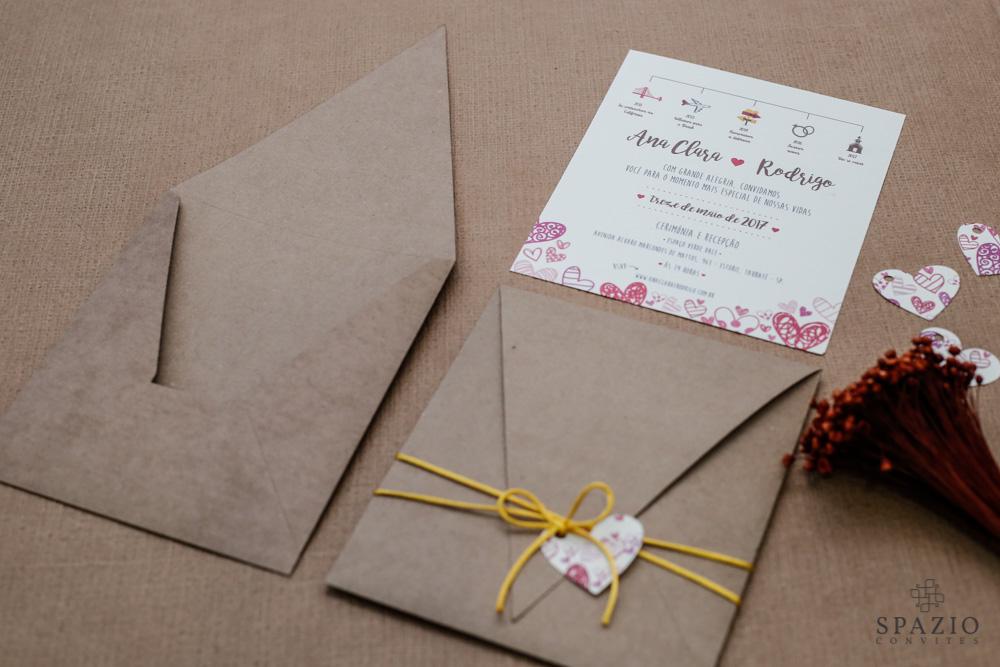 Convites de Casamento em Limeira