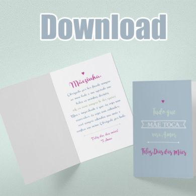 Baixar Cartão Dia das Mães
