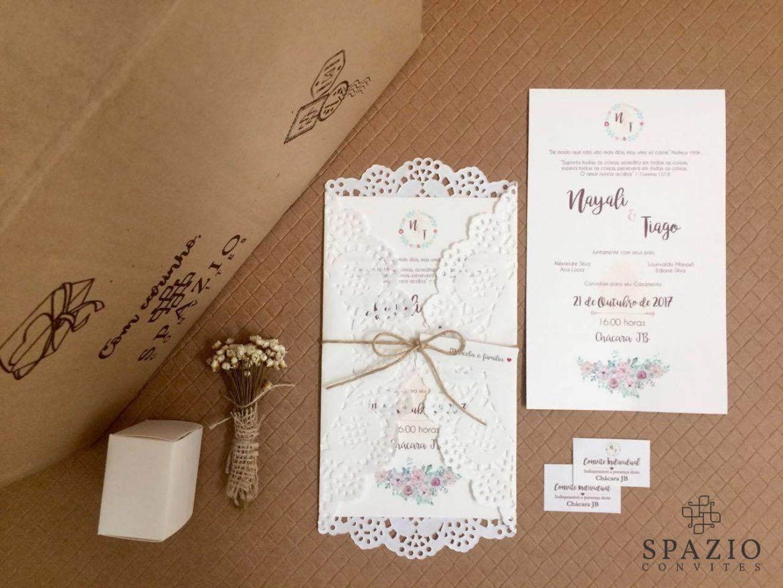 Convite de Casamento em Jundiaí