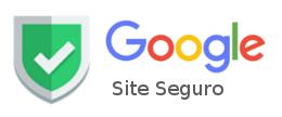 Resultado de imagem para selo google site seguro