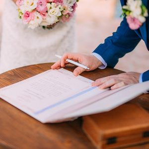 Como organizar um casamento Civil