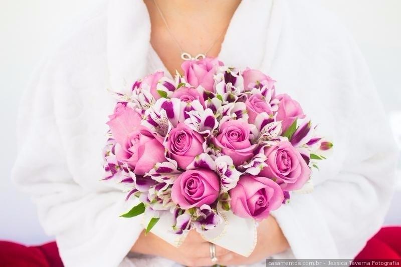 15 buquês de noiva rosas: romantismo com personalidade