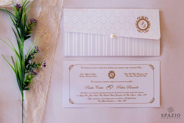 Convite de Casamento Vila Olimpia