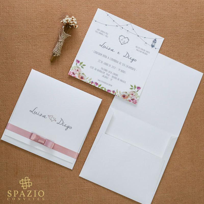 Convite de Casamento em Mairiporã