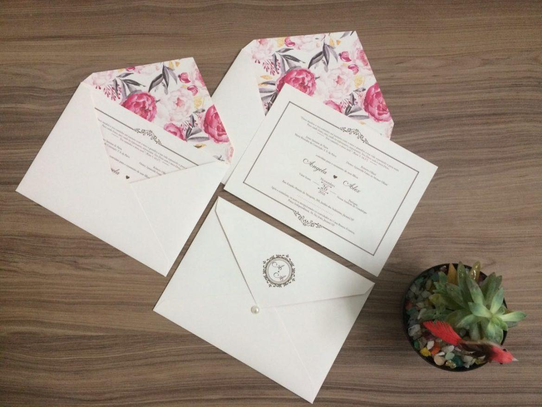 Convite de Casamento em Londrina
