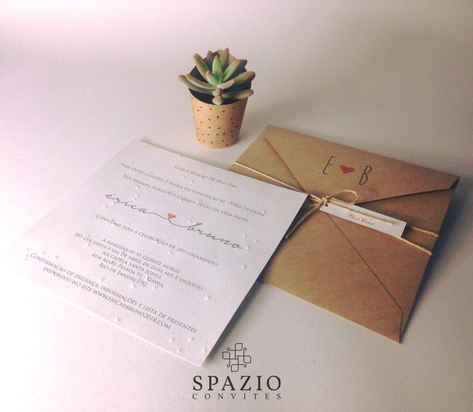 Convite de Casamento em Itabira