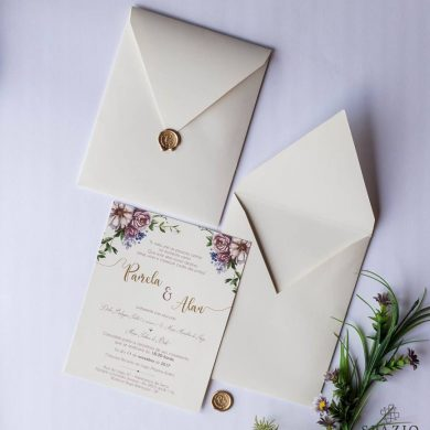 Convite de Casamento em Sergipe